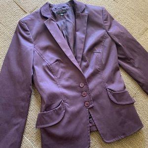 Sisley Blazer | Dark Purple